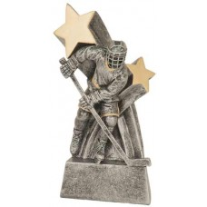 Male Hockey Star Resin